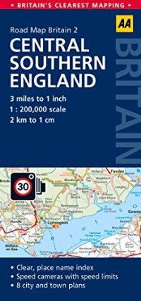 מפה AA בריטניה 200 (2) מרכז דרום אנגליה