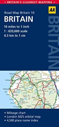 מפה AA בריטניה