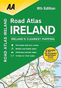מפה AA אירלנד אטלס