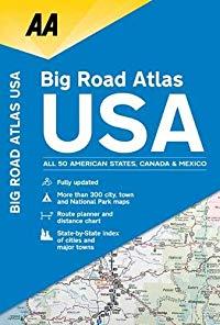 Big Road Atlas USA 2019