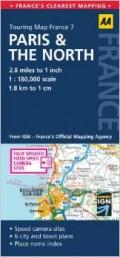 מפה AA צרפת 180 (7) פאריז והצפון