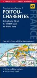מפה AA צרפת 180 (4) פואטו-שאראנט