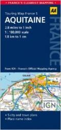 מפה AA צרפת 180 (5) אקיטן
