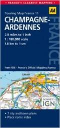 מפת צרפת 180 (11) שאמפאן-ארדן AA