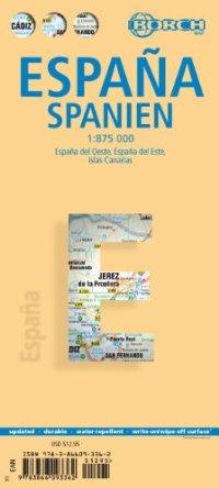מפה BB ספרד