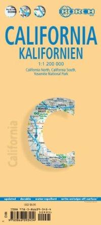 מפה BB קליפורניה