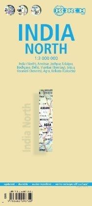 מפה BB הודו צפון