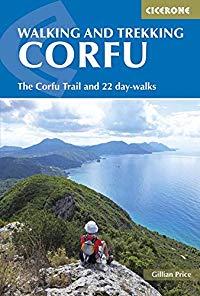 מדריך באנגלית CP הליכה וטרקים בקורפו