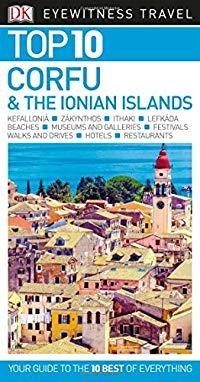 מדריך באנגלית DK קורפו והאיים היוניים