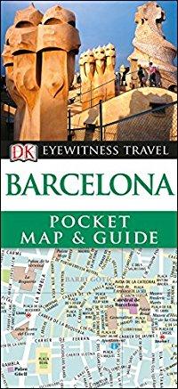 מדריך ברצלונה דורלינג קינדרסלי קטן עם מפה