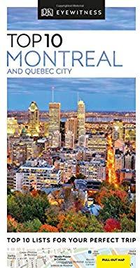 מדריך באנגלית DK מונטריאול וקוויבק