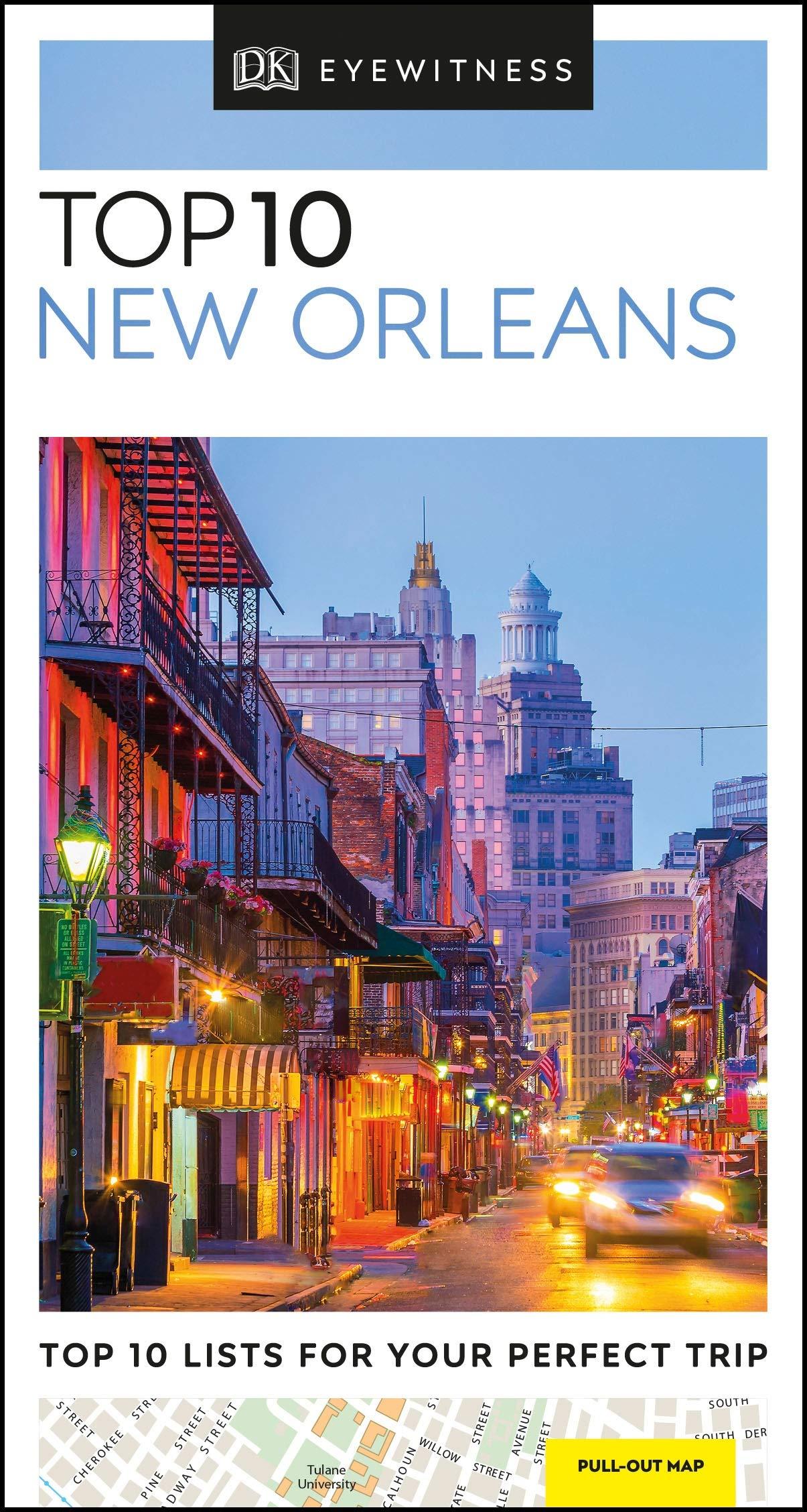 מדריך באנגלית DK ניו אורלינס