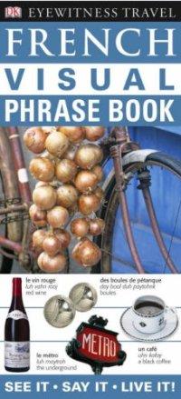 מדריך באנגלית DK צרפתית שיחון ויזואלי
