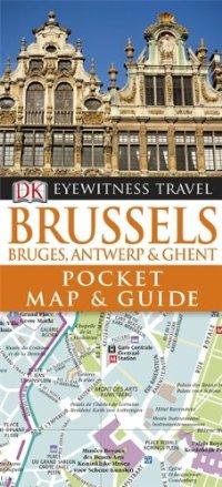 מדריך באנגלית DK בריסל כיס ומפה