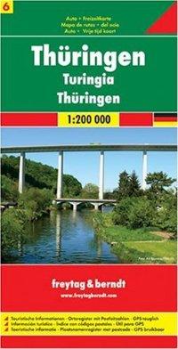 מפה FB גרמניה 200 (6) טורינגן