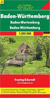מפה FB גרמניה 200 (3) באדן-וירטמברג היער השחור