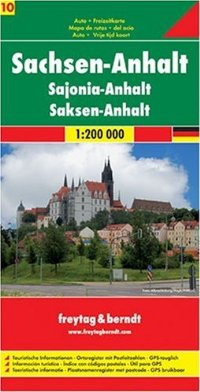 מפת גרמניה 200 (10) זאקסן-אנהאלט פרייטג ברנדט