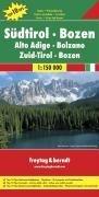 מפה FB איטליה 150 דרום טירול בולזנו (דולומיטים)