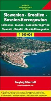 מפה FB סלובניה קרואטיה בוסניה