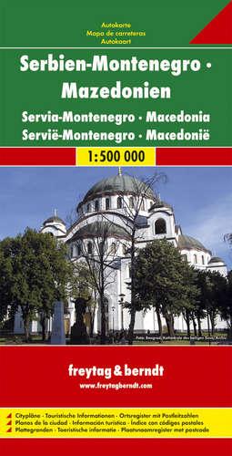 מפה FB סרביה-מונטנגרו (יוגוסלביה לשעבר)