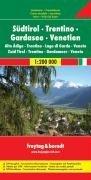 מפה FB איטליה 200 דרום טירול-טרנטינו-ונציה-אגם גארדה