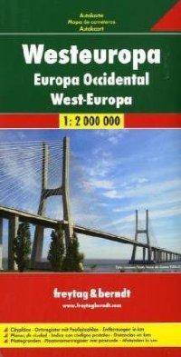 מפה FB אירופה מערב