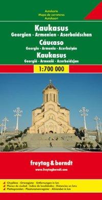 מפה FB קווקז גיאורגיה ארמניה אזרבייגאן