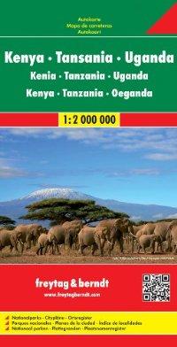 מפה FB קניה טנזניה אוגנדה ורואנדה