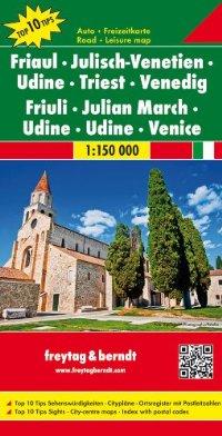 מפת איטליה 150 צפון החוף האדריאטי ונציה פרייטג ברנדט
