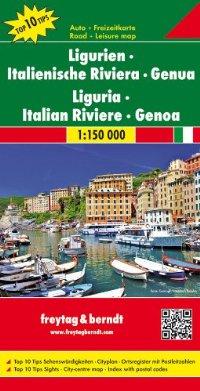 מפה FB איטליה 150 הריביירה האיטלקית גנואה ליגוריה
