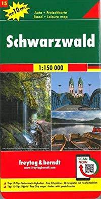מפה FB היער השחור (גרמניה)+טופ 10 טיפס