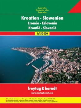 Croatia Slovenia Atlas