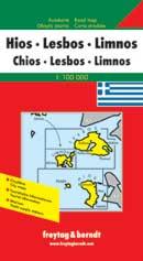 מפת חיוס לסבוס לימנוס (יוון) פרייטג ברנדט (ישן)