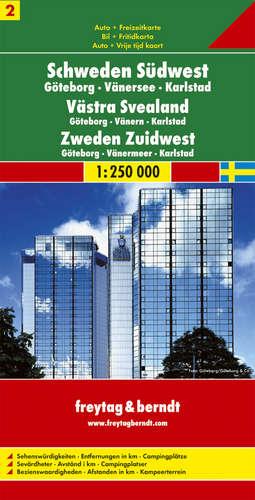 Sweden Sheet 2, Sweden Southwe