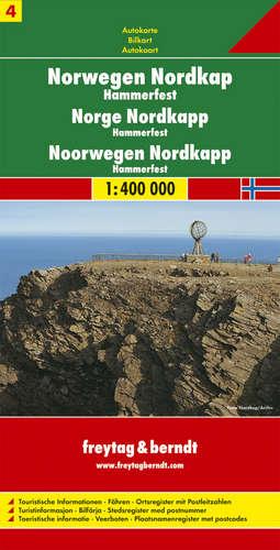 מפה FB נורבגיה (4) אזור הנורדקאפ