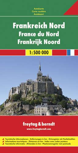 מפת צרפת צפון פרייטג ברנדט