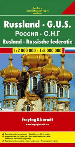 מפה FB רוסיה