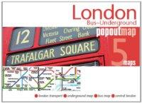 מפה FP לונדון אוטובוסים ורכבת תחתית