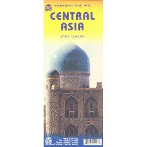 מפה ITM אסיה מרכז