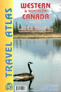 מפת מערב וצפון קנדה אטלס ITM