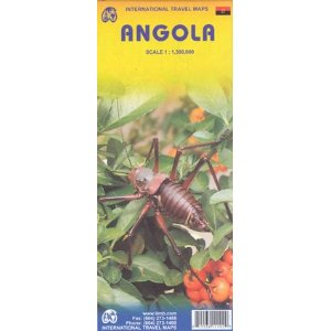 Angola Travel Reference Map