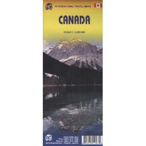 מפה ITM קנדה
