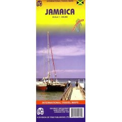 Jamaica Travel Reference Map 1
