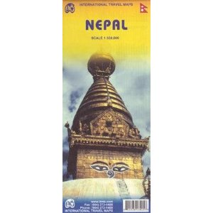 Nepal Travel Reference Map