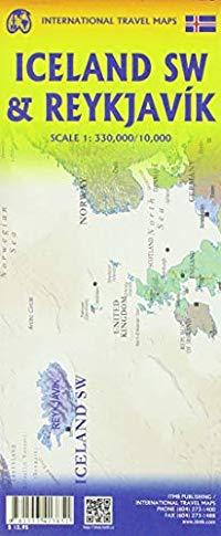 מפה ITM רייקיאוויק ודרום מערב איסלנד