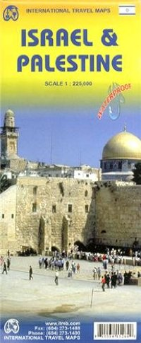 מפה ITM ישראל ופלשתין