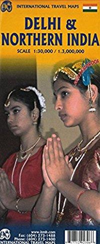 מפה ITM דלהי וצפון מערב הודו