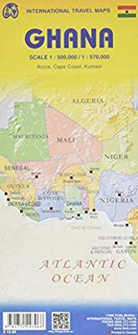 מפת גאנה ITM