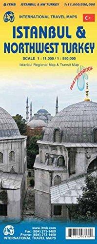 מפה ITM איסטנבול ומערב טורקיה