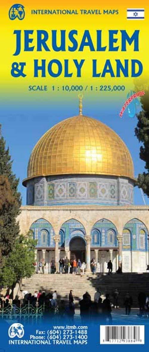 מפה ITM ירושלים וארץ הקודש